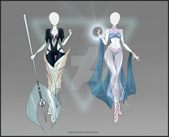 (CLOSED) Adoptable Outfit Auction 53-54 by Risoluce