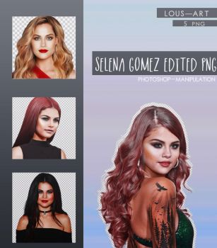 Selena Gomez (EDITED PNG) by lous-art