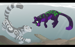 Clear Waters -GIFT- by MBPanther