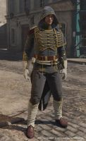 Assassin's Creed Unity, Napoleonic outfit Rank 3 by Mayrt