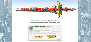 Epic Battle Fantasy 4 on Humble Store by KupoGames