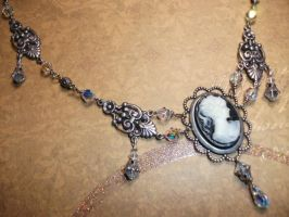 Stunning cameo necklace by Forsaken-Muse