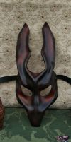 Creature mask from a dream by JoannaCorrinCoutures