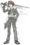 Squall Leonhart by AetherWings
