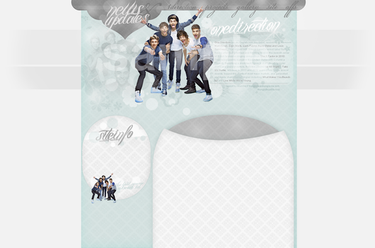 1D layout by hungrybeardesigns