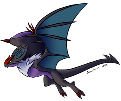 New Pokemon noivern by Eiden-Enea