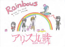 Alice Nine Rainbows by prince-to-prince