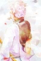 Gintoki Meets a Rainbow by tehlam