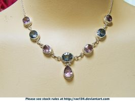 Jewellery Mixed Gem Necklace by Rae134