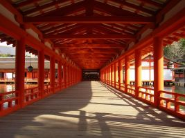 Itsukushima shrine by kaz0885