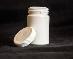 White Pill Bottle (Open II) by KarvinenStock