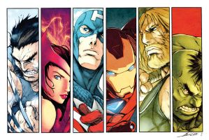 Alvin Lee AVENGERS by dcjosh