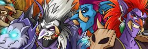 WoW Tumblr Banner by Quarter-Virus