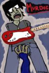 Murdoc's Crotch Grabbed... by IrkenRaven