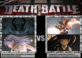 Death Battle, Al and Riku VS Xehanort and Selim by 4xEyes1987