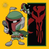 Star Wars: Chibi Boba Fett by Sideways8Studios