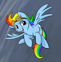 Rainbow Storm by sophiecabra