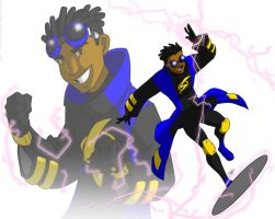 Static Shock: my design by Aeolus06
