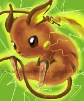Quick Raichu by WindieDragon