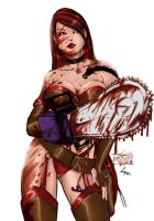 Chainsaw Woman by lufidelis