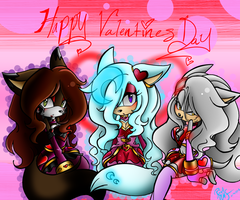 Happy Valentines Day! by Reina-wOlf