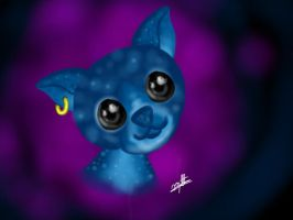 Na'vi Chihuahua by Luis-Montiel