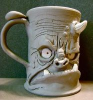 Ogre coffee mug-WIP by thebigduluth