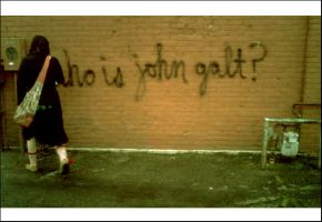 Who is John Galt? by papermotorcycle