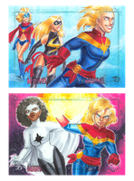 Women of Marvel 9 by Jadiekins