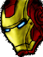 Shellhead- Iron Man. by BonnyJohn