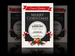Christmas Party Invitation Flyer by soulmemoria