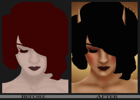 Sidonie - Before and After by Ammeg88