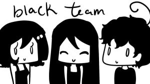 Black Team by Tinachan90