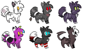 Adopts for Sacred-Survivor by alfvie