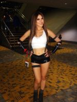 Final Fantasy VII's Tifa Cosplay by GamerZone18
