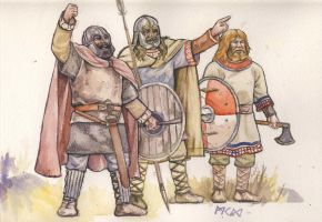 Jeering Saxons by residentsmooth