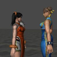 Chun And Xiao by dirtscan
