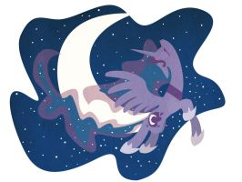 Princess Luna by lalindaaa