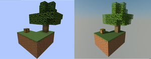 Before and After SkyBlock by TotalTheWolf