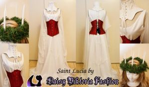 Saint Lucia Gown by DaisyViktoria
