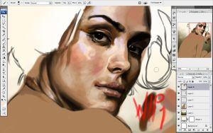 Turning Back wip1 by indi1288