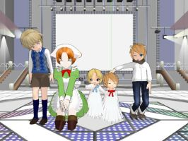 My Hetalia Models So far by PrincessSky
