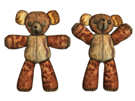 Teddy Bear PNG Stock by Jumpfer-Stock