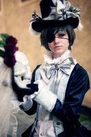 the little earl - Ciel Phantomhive by SnowChlLD