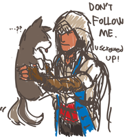 [AC3] DON'T FOLLOW ME! by lcl920