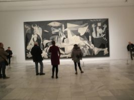 Picasso guernica by anadarksoul