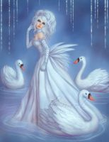 The Swan Princess by Enamorte