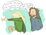 taking the hobbits to isengard by surfersquid