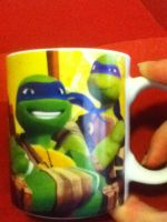 my tmnt mug, leo and donnie. by Wolf-Angel-whitewing