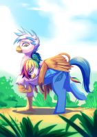 CM: Rainbow Feather: Mm ...is the ground moving by bakki